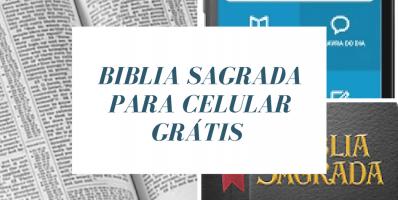 Baixar a bíblia sagrada no celular