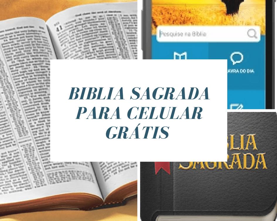 Baixar a bíblia sagrada no celular 4 aplicativos gratuitos ...