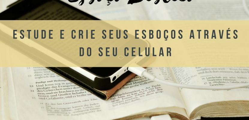 esboço e sermão